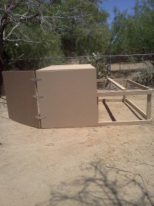 Chicken Coop side