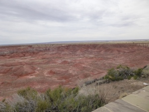 Painted Desert in North Arizona